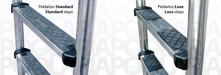 Escalera standard para piscina astralpool poolaria - Peldanos de escaleras ...